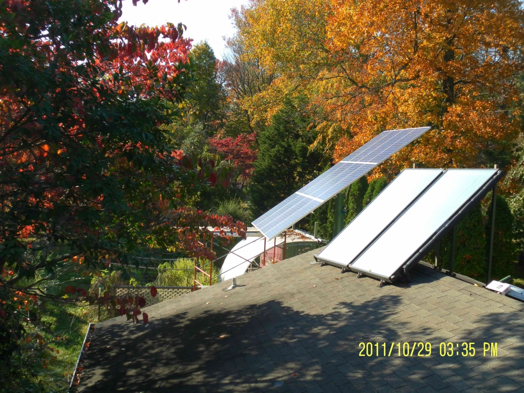 Solar Collectors Installed